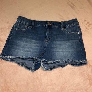 Girls' Tractr Cutoff Denim Shorts